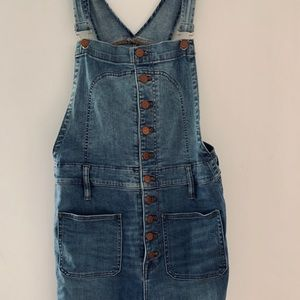 Madewell overalls ankle length